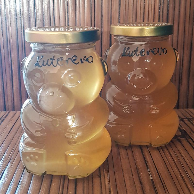 Miele locale venduto a Kuterevo