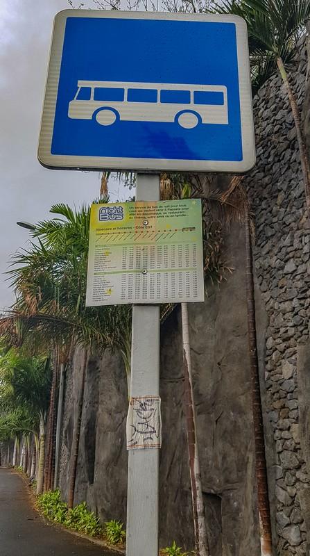 fermata bus a Tahiti