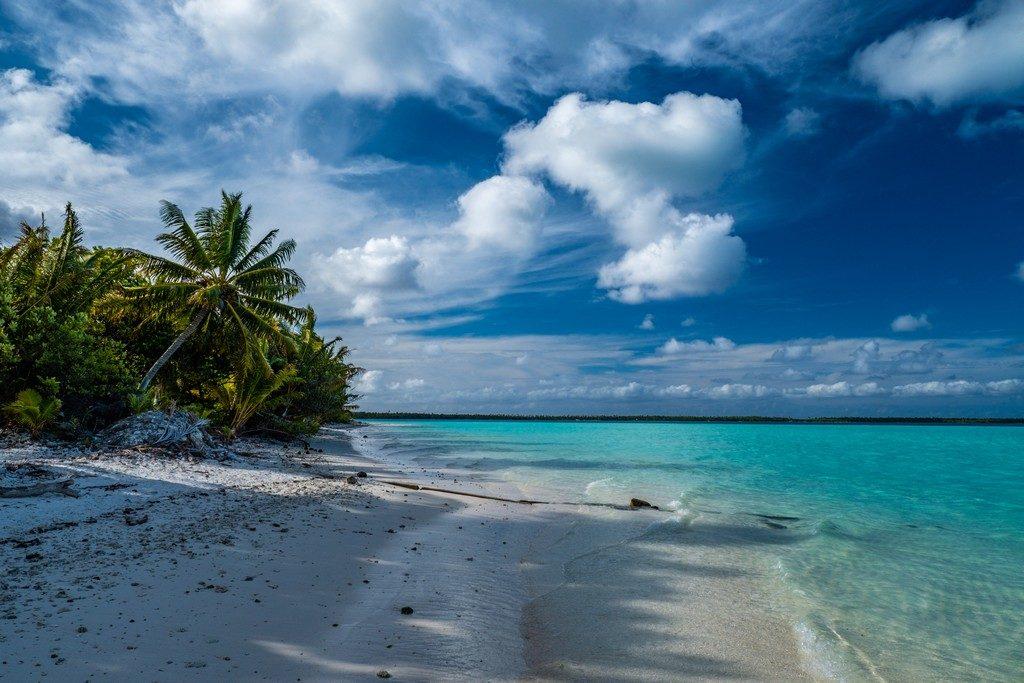 Spiaggia sul Motu Auira