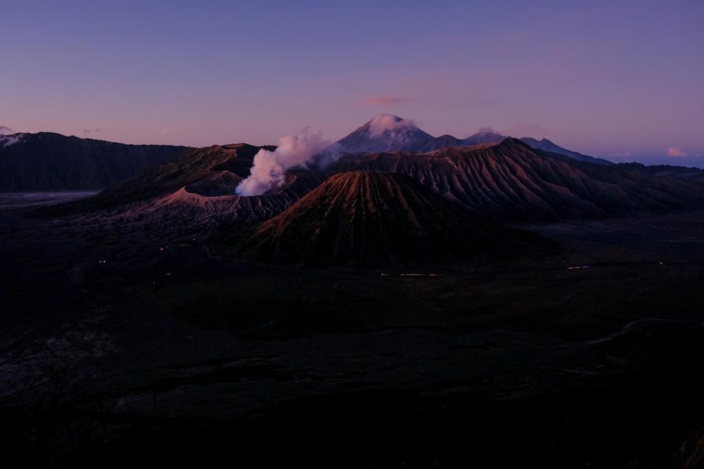 itinerario in indonesia 3 settimane prima dell'alba su MOnte bromo