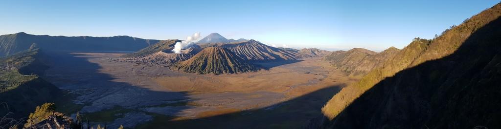 panoramica del monte bromo