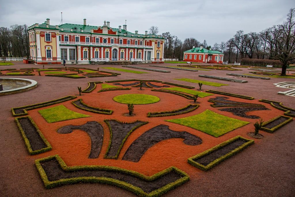 giardino del Palazzo Kadriorg