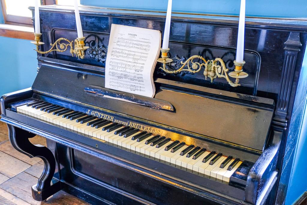 pianoforte antico gunther bruxelles e spartito