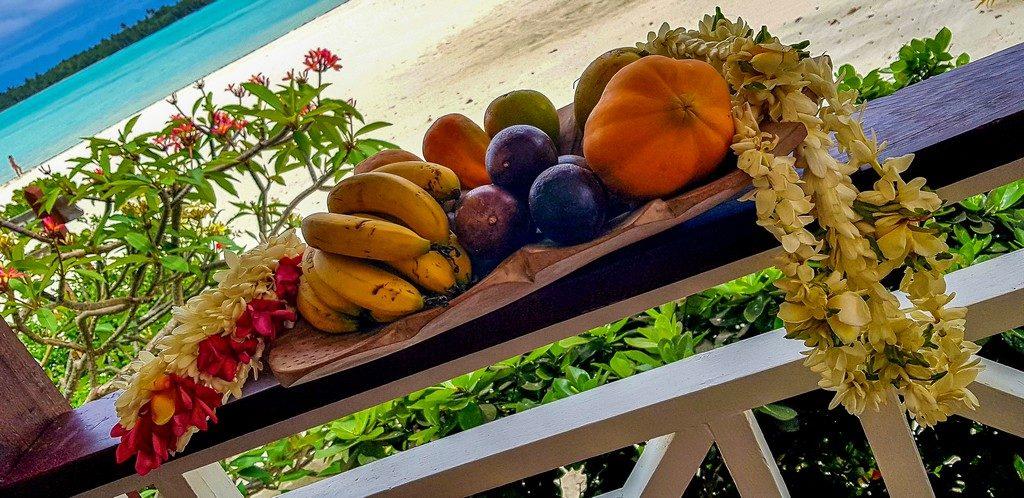 vassoio di frutta
