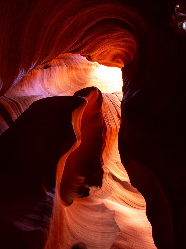 colori e forme delle rocce erose