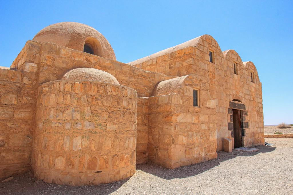 antica residenza omayade con forme arrotondate