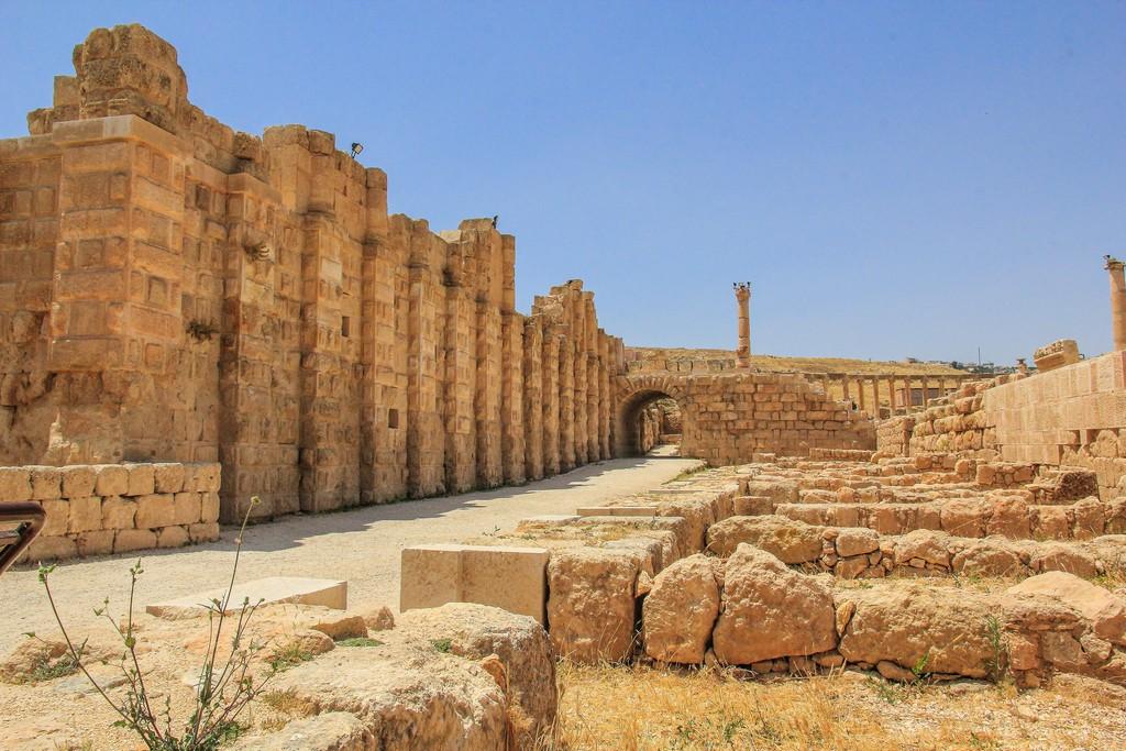 mura dell'antica città romana