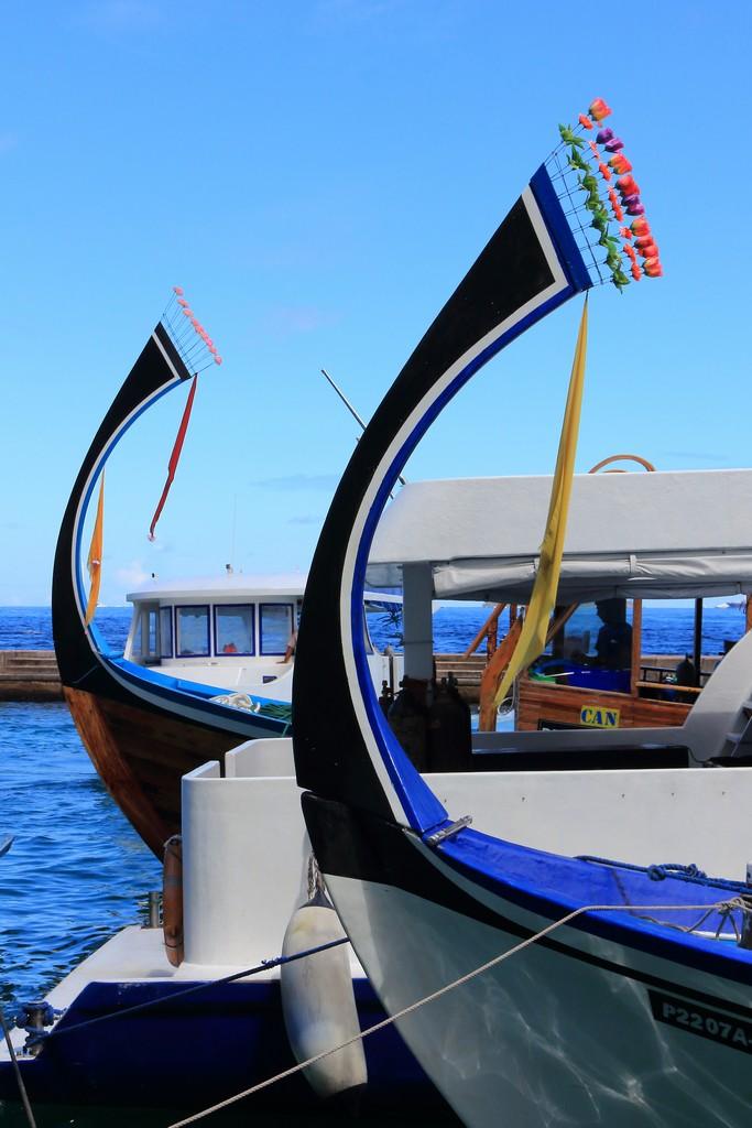 punta delle imbarcazioni maldiviane