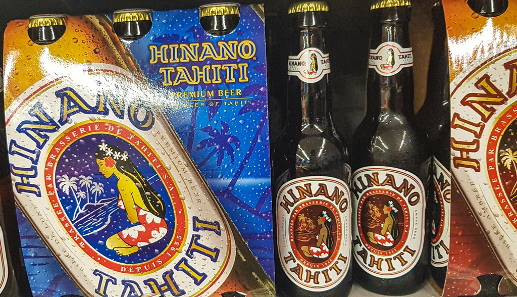 bottiglie di birra locale