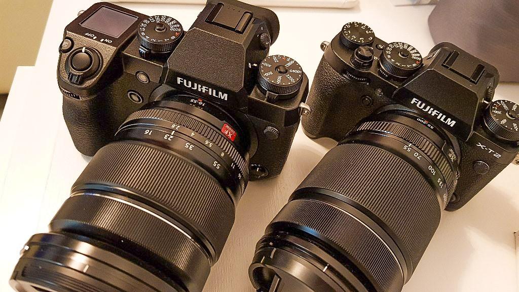 Fotocamere Fujifilm mirrorless XH1 e XT2