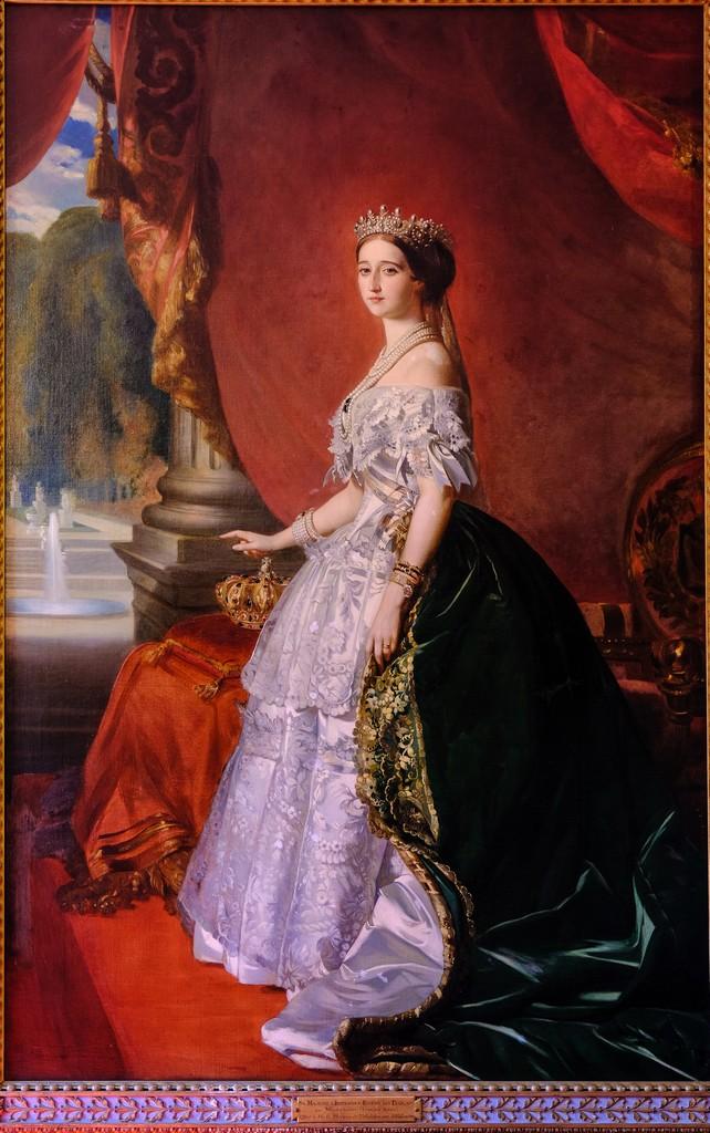 Ritratto dell'imperatrice Eugénie, di Winterhalter