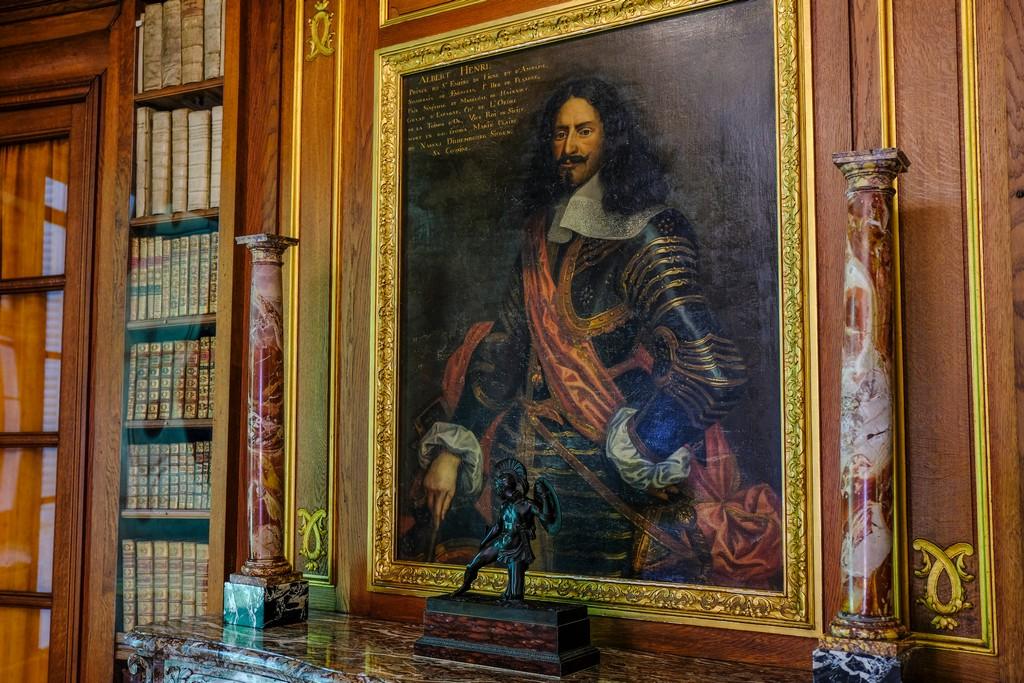 Ritratto del principe di Ligne nella sua biblioteca