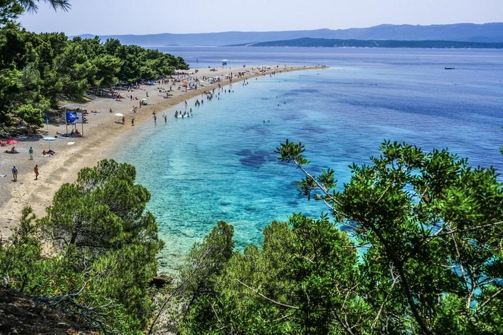 Cosa vedere a Brac: lingua di spiaggia protesa nel mare