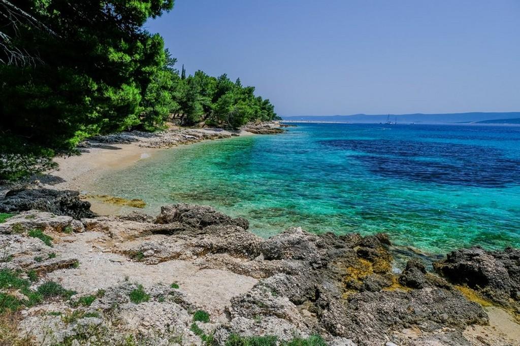Cosa vedere a Brac: spiaggetta riparata