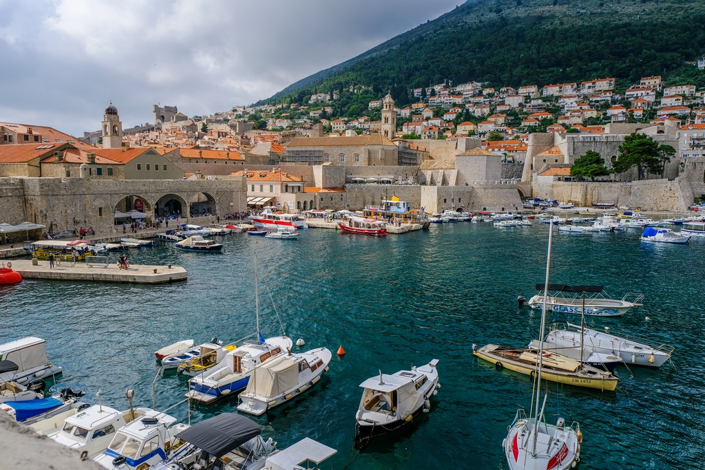 Vista del Porto dalla Fortezza di San Giovanni