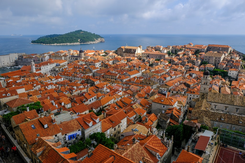 Vista della città dalla Torre Minceta