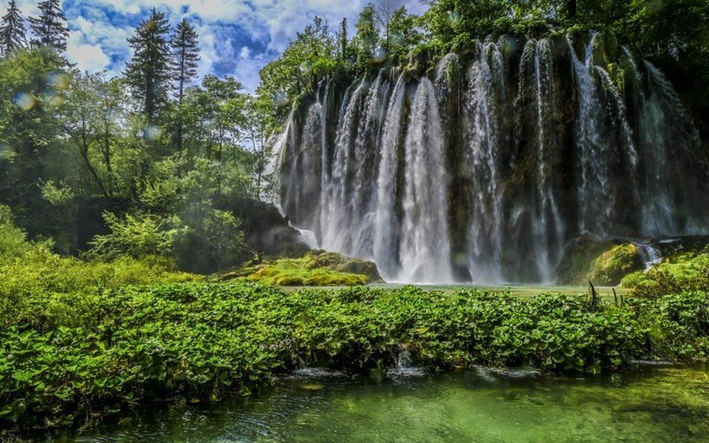 il tempo di scatto in fotografiaGuida ai laghi di Plitvice: cascata