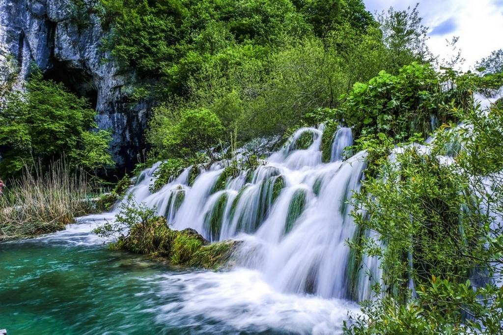 Guida laghi di Plitvice: cascata alta e veloce