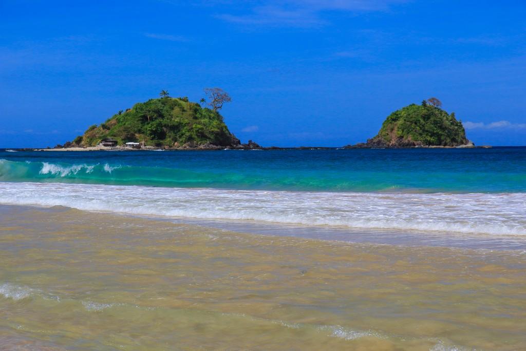 isole al largo della spiaggia