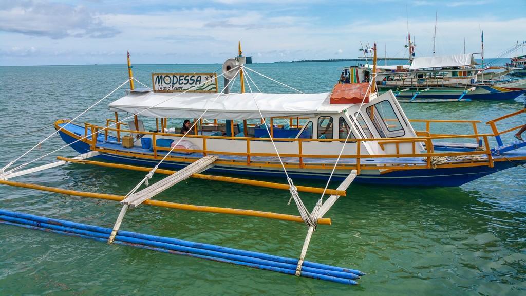 barca privata del modessa a bilanciere