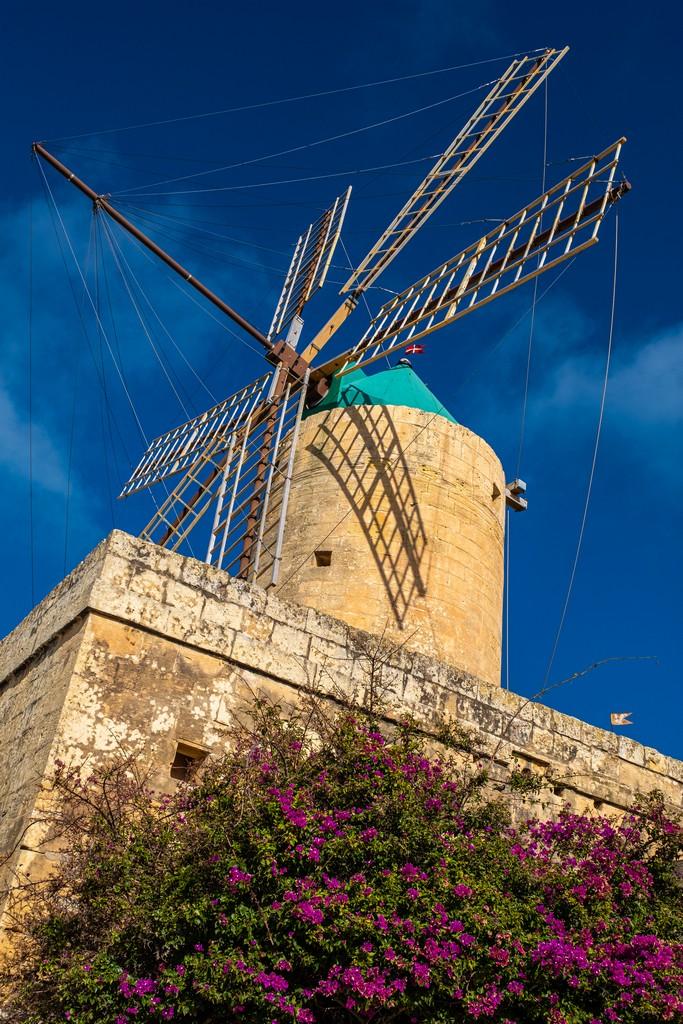 Cosa vedere a Gozo mulino a vento