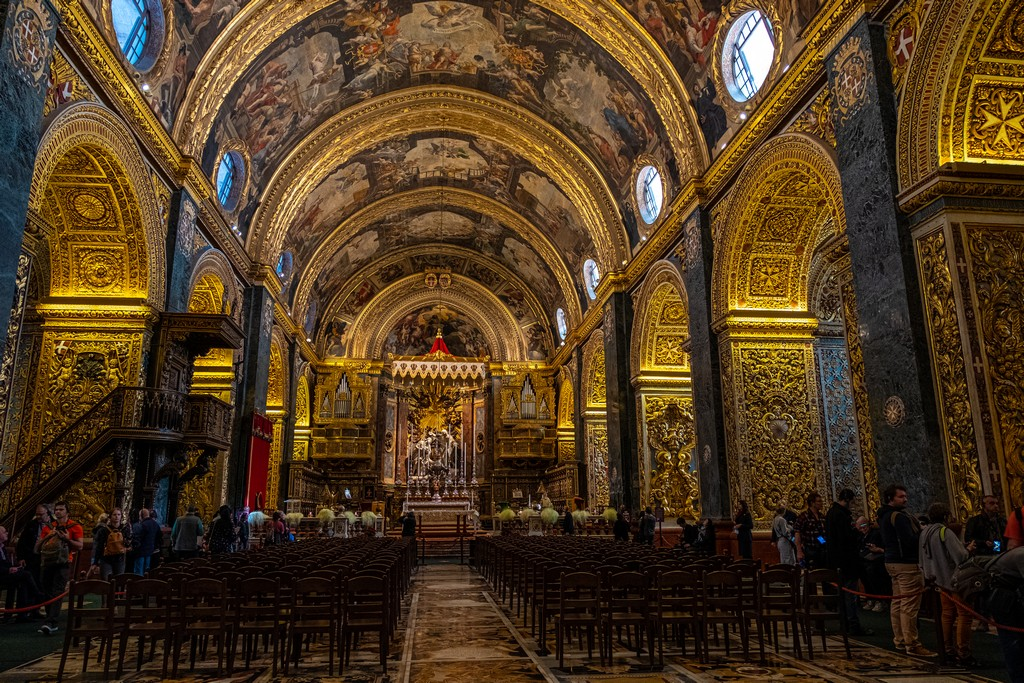 Guida alla Co-Cattedrale di San Giovanni interno della cattedrale
