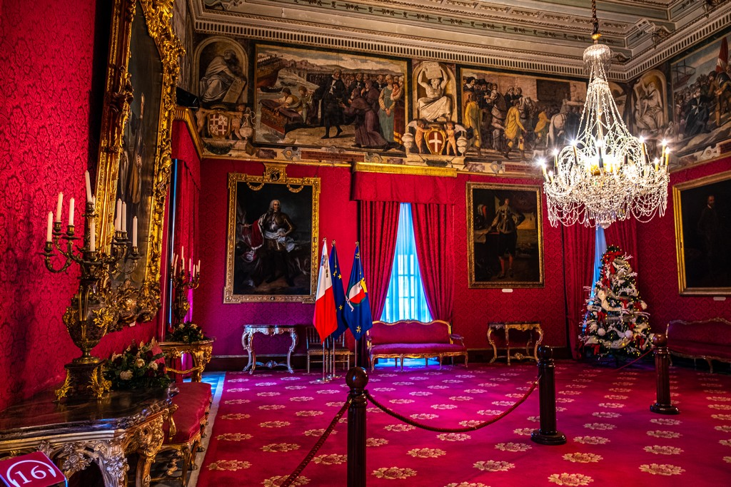 appartamenti di stato palazzo del gran maestro
