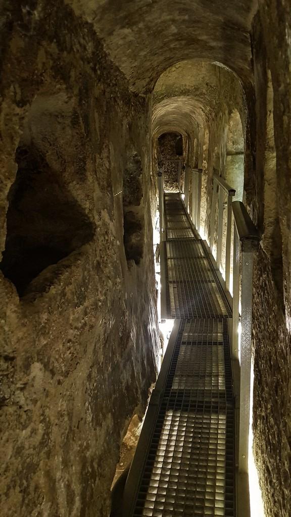 percorso catacomba