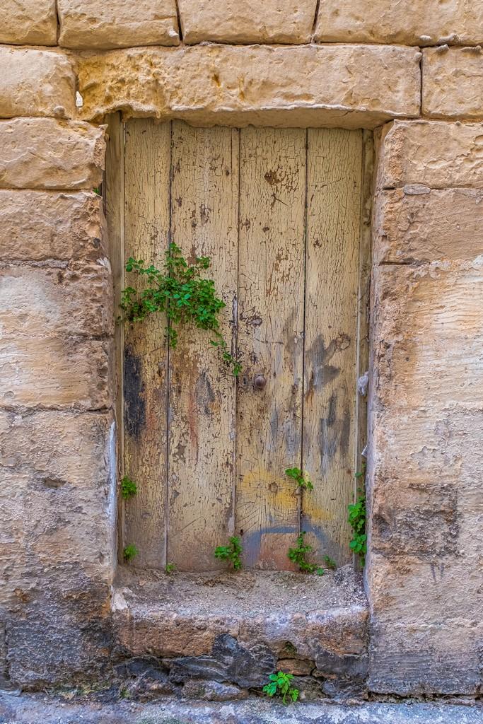 porta antica in legno
