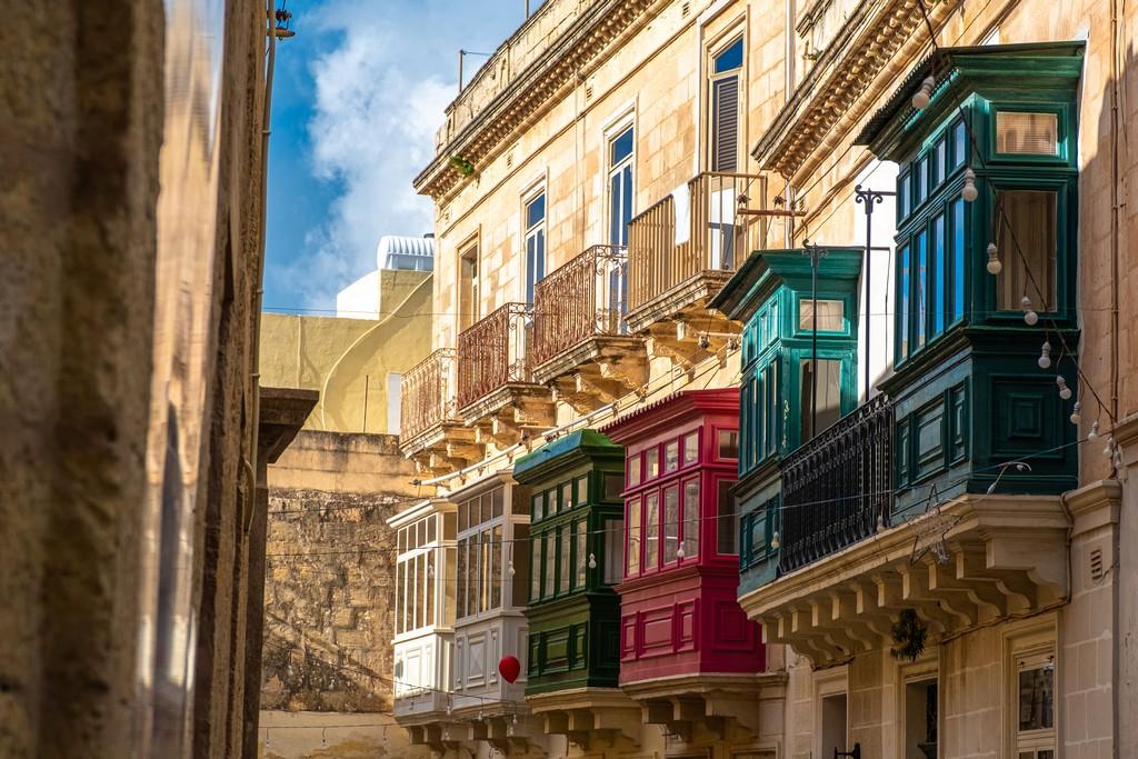 balconi di Rabat