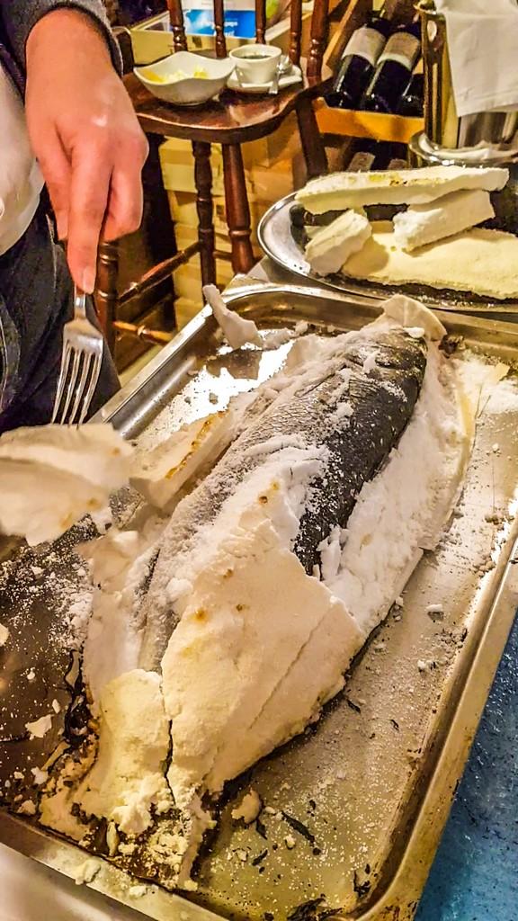 preparazione del pesce