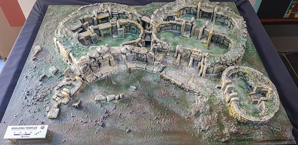 i templi megalitici di Malta plastico di tempio