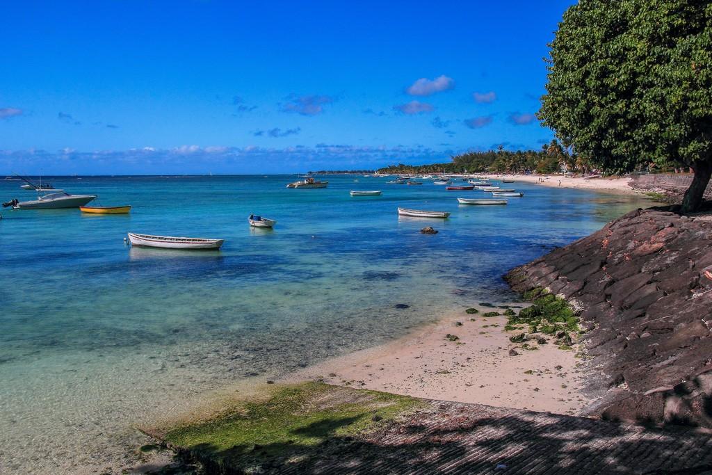 barchette sulla riva