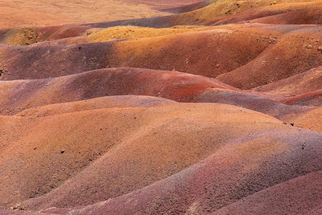 terre colorate di chamarel