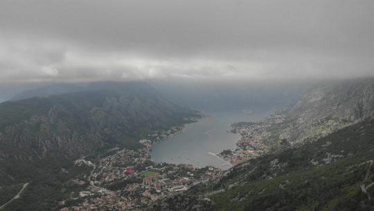 Visita alle Bocche di Cattaro vista del fiordo dall'alto