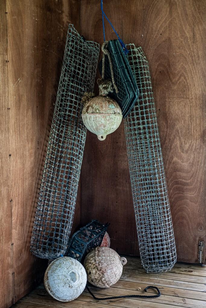 galleggianti e gabbie per ostriche