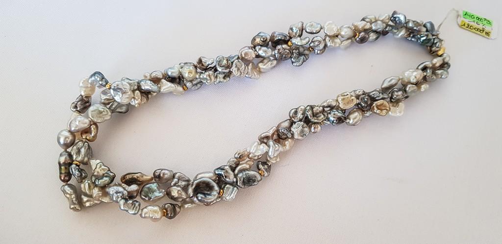 come scegliere una perla nera keshi irregolare