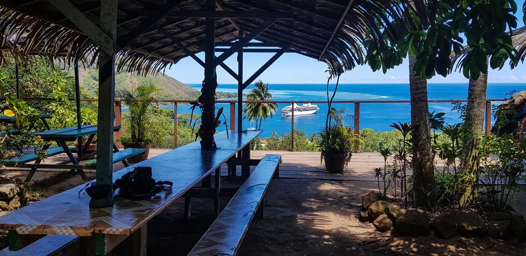 10 cose da non perdere a Moorea terrazza del tropical garden