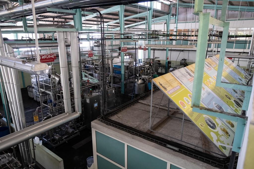 pannelli nella fabbrica