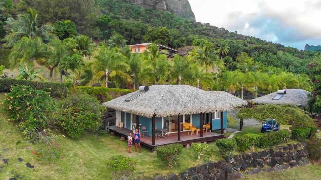 maldive o polinesia francese appartamento sulla montagna
