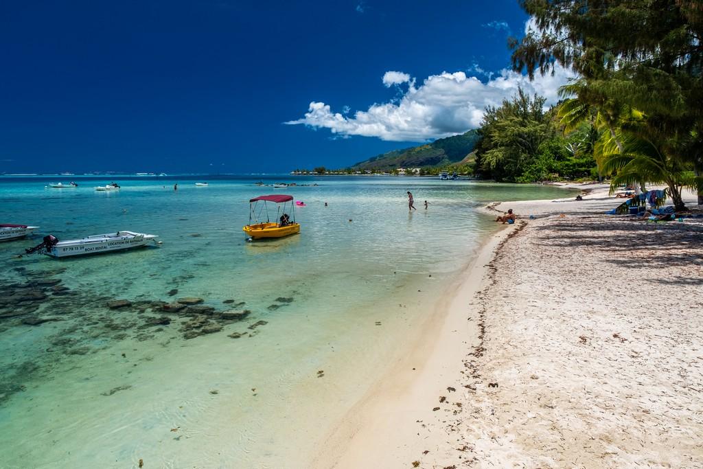 Polinesia low cost spiaggia bianca e laguna turchese