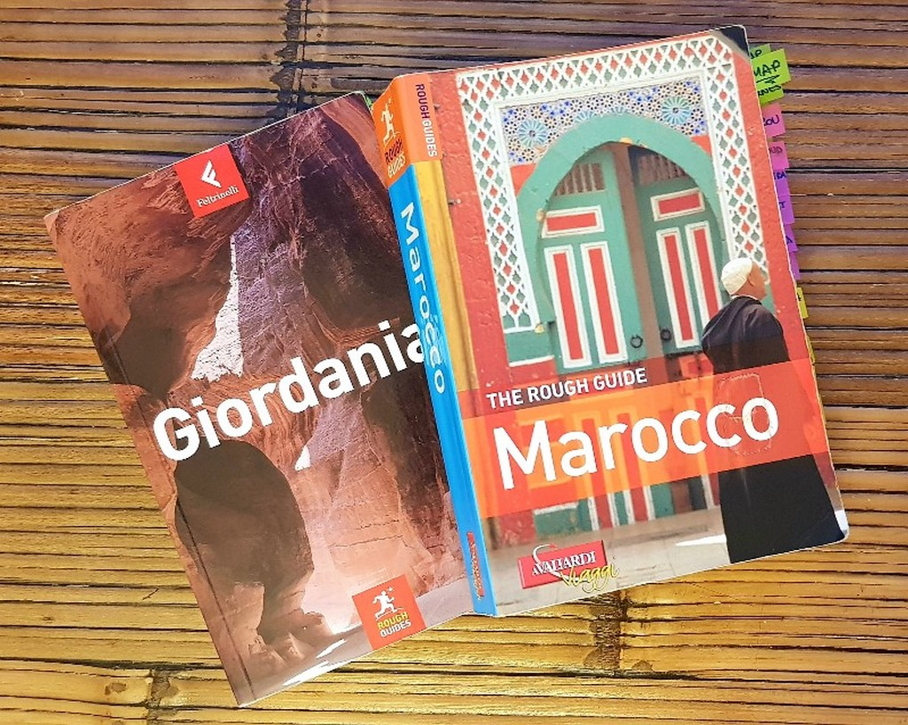 Come scegliere la guida turistica guide rough guide giordania e marocco