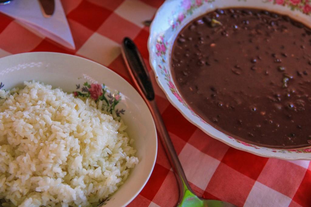 riso con fagioli neri cubana