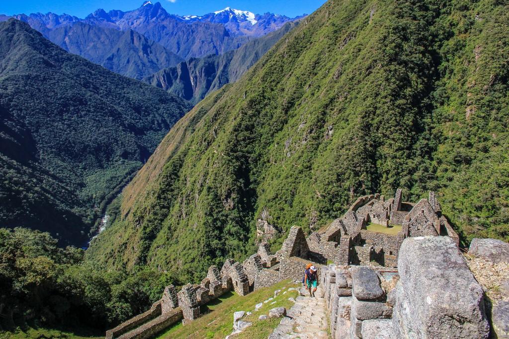 Guida al Camino Inca di 2 giorni scalinata fra le montagne