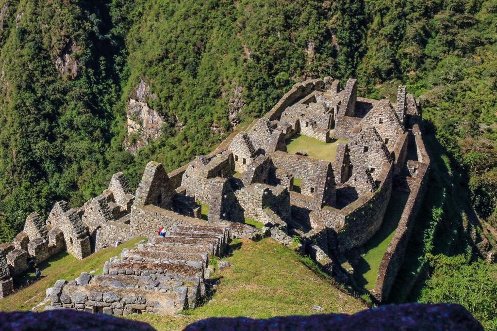 Guida al Camino Inca di 2 giorni vista dall'alto delle rovine