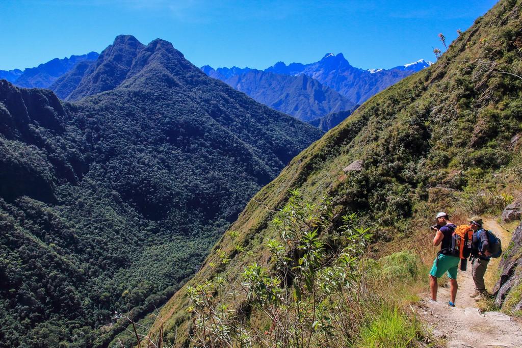 Guida al Camino Inca di 2 giorni panorama sulle montagne