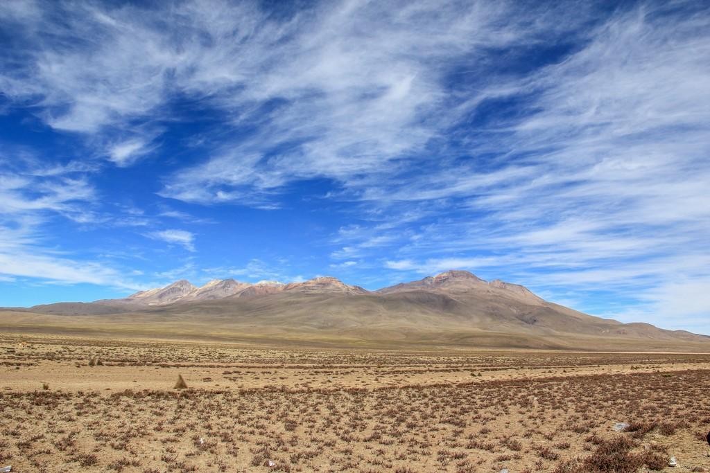 Reserva Salinas y Aguada Blanca con vista sui vulcani