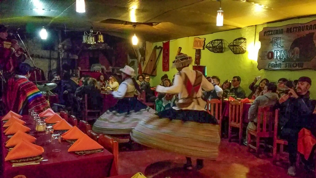 Peña show a El Horno