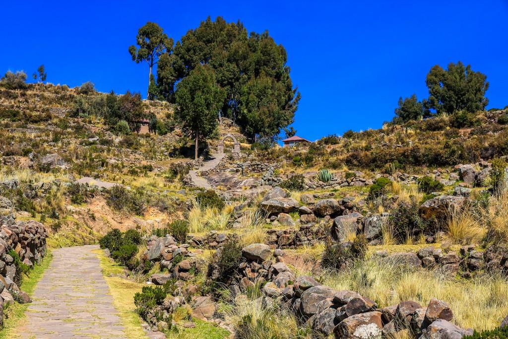 come visitare Amantaní e Taquile Salita dal Porto di Taquile