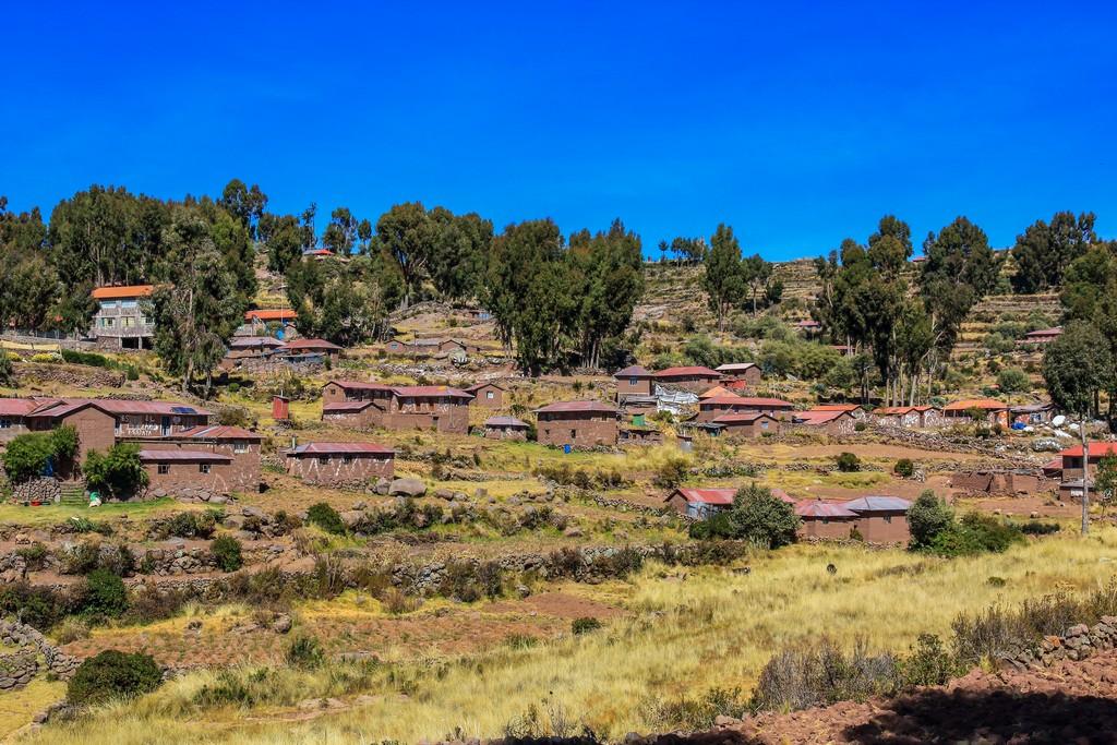 Panorama di Isla Taquile